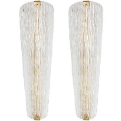 Murano Glass Wall Sconces by Barovier