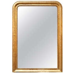 Louis Philippe Gold Leaf Mirror