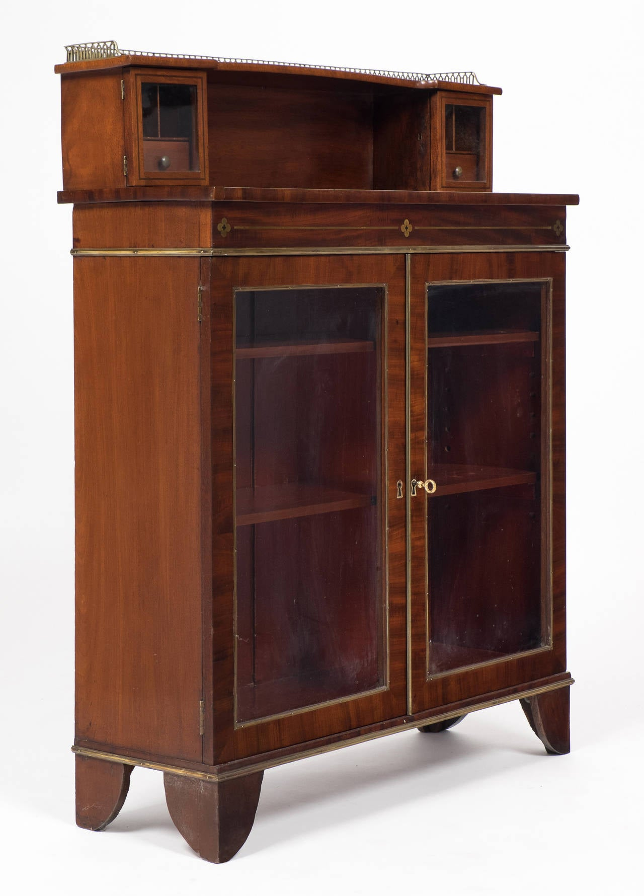 French Restoration Period Vitrine At 1stdibs