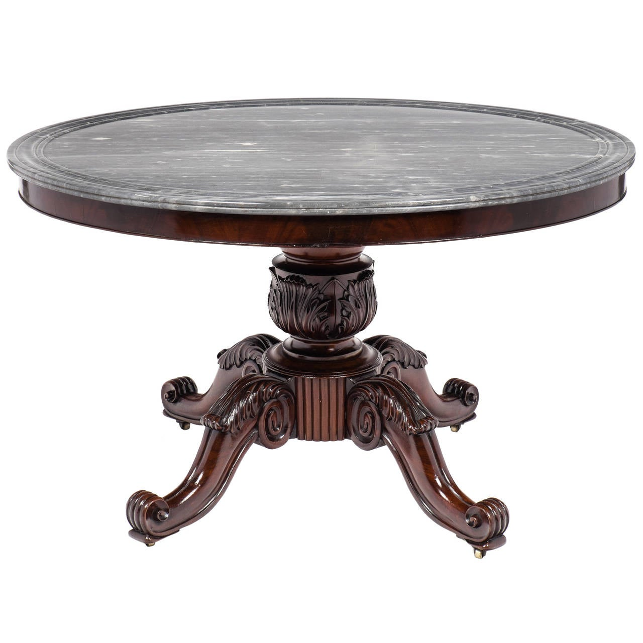 French louis philippe period pedestal table at 1stdibs for Table louis philippe