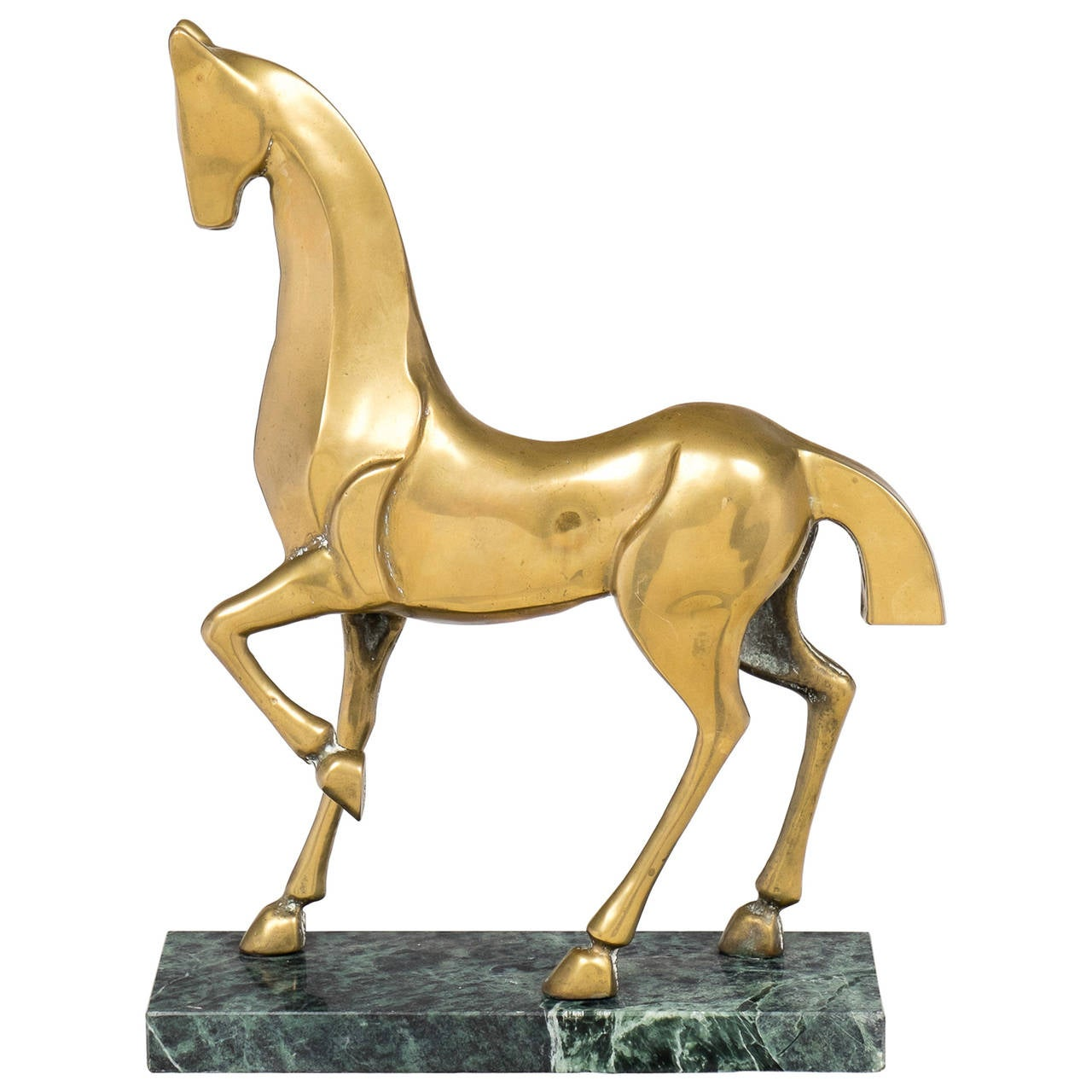 Italian Art Deco Etruscan Horse Sculpture at 1stdibs