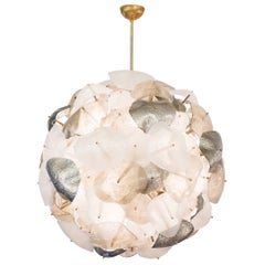 Murano Glass Globe Chandelier
