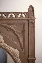 French Gothic Trumeau/Mirror image 3