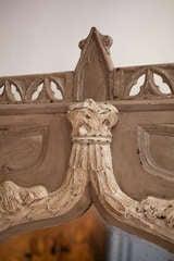 French Gothic Trumeau/Mirror image 4