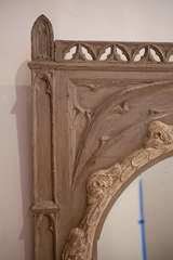 French Gothic Trumeau/Mirror image 6