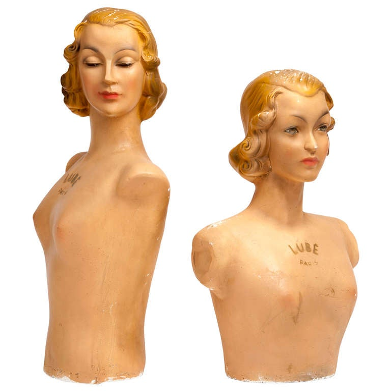 French Vintage Mannequins by Lubé Paris 2