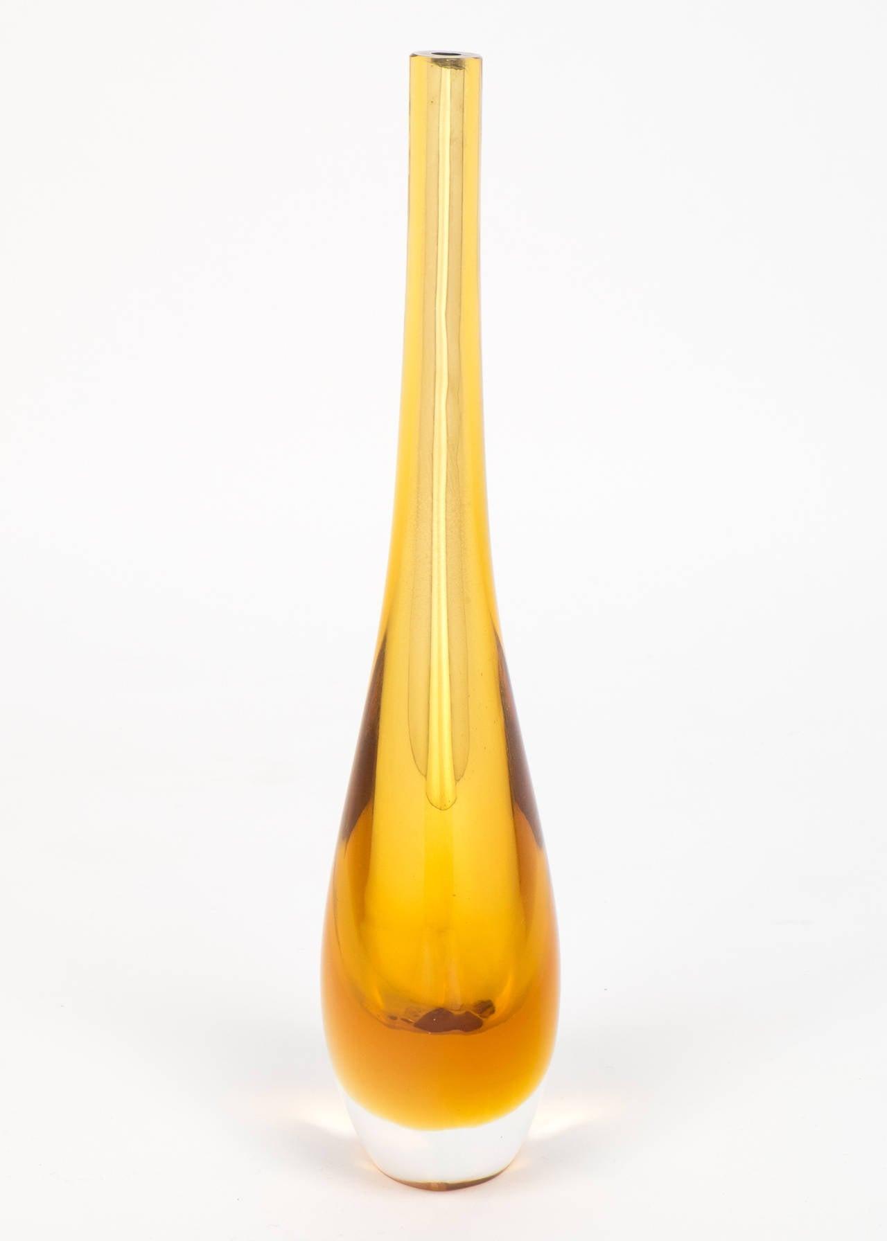 Murano amber glass single stem vases for sale at 1stdibs murano amber glass single stem vases for sale 1 reviewsmspy