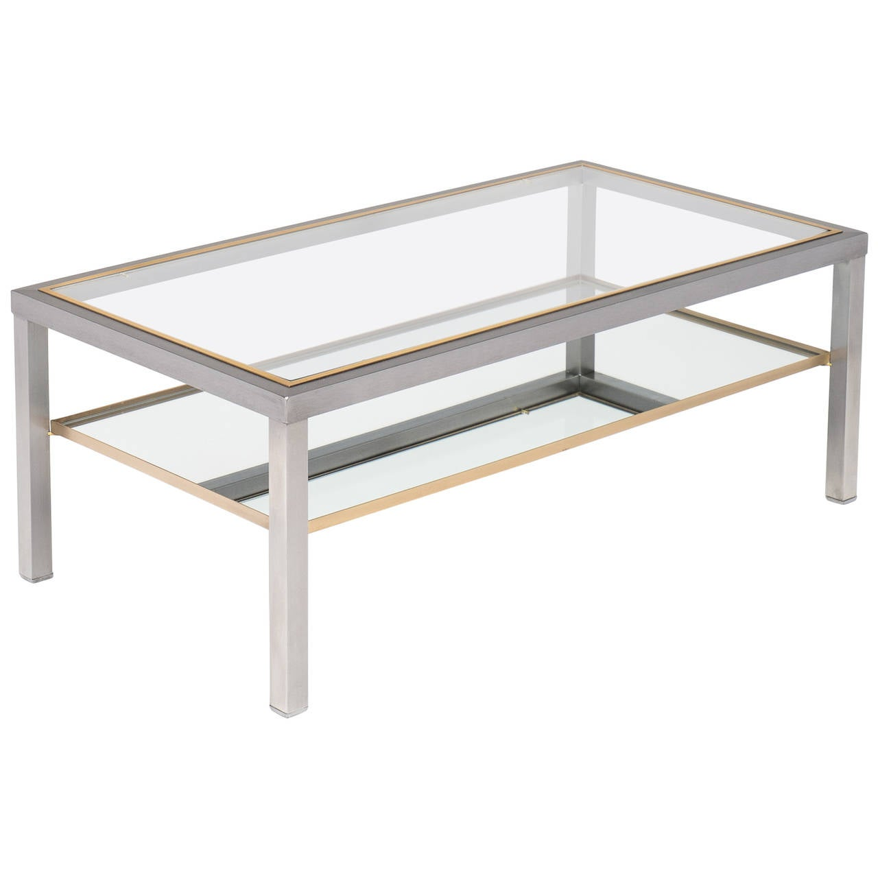 French Vintage Modernist Coffee Table