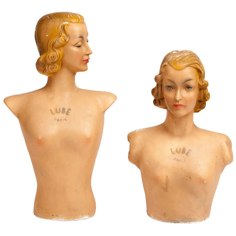French Vintage Mannequins by Lubé Paris 1