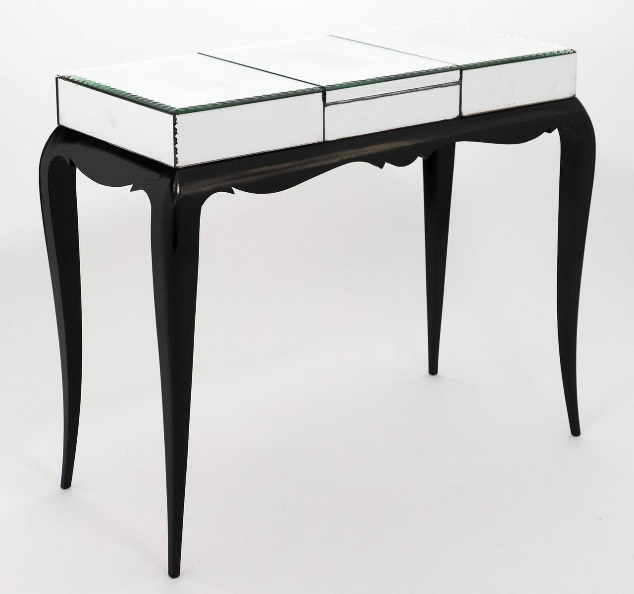 french art deco mirrored vanity table at 1stdibs