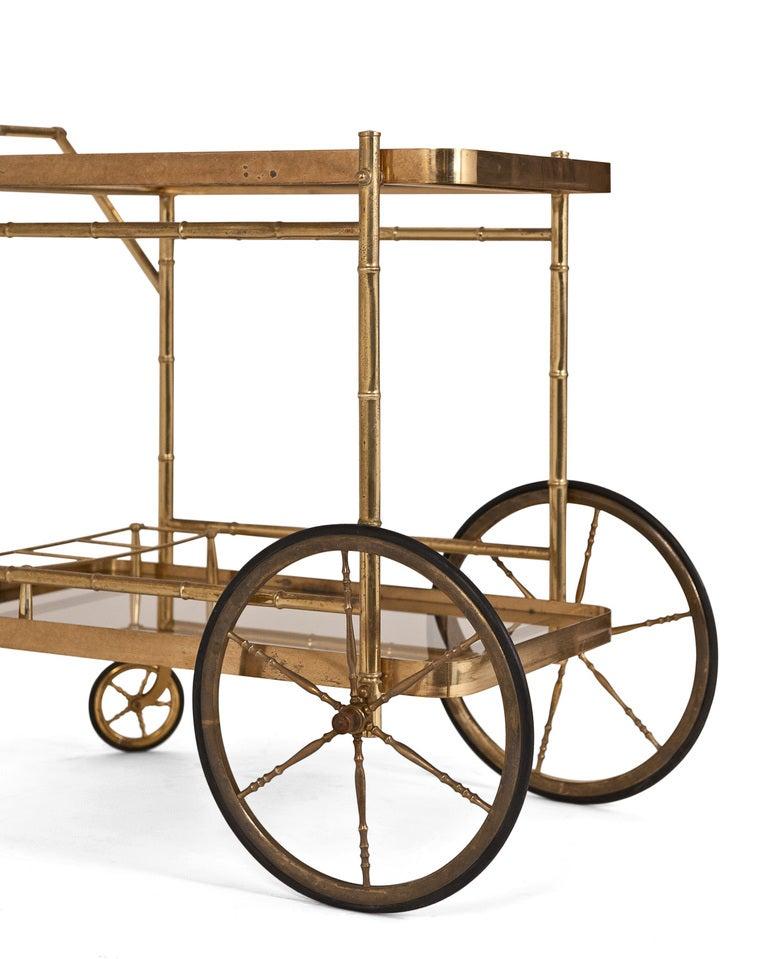vintage bar cart casual cottage. Black Bedroom Furniture Sets. Home Design Ideas