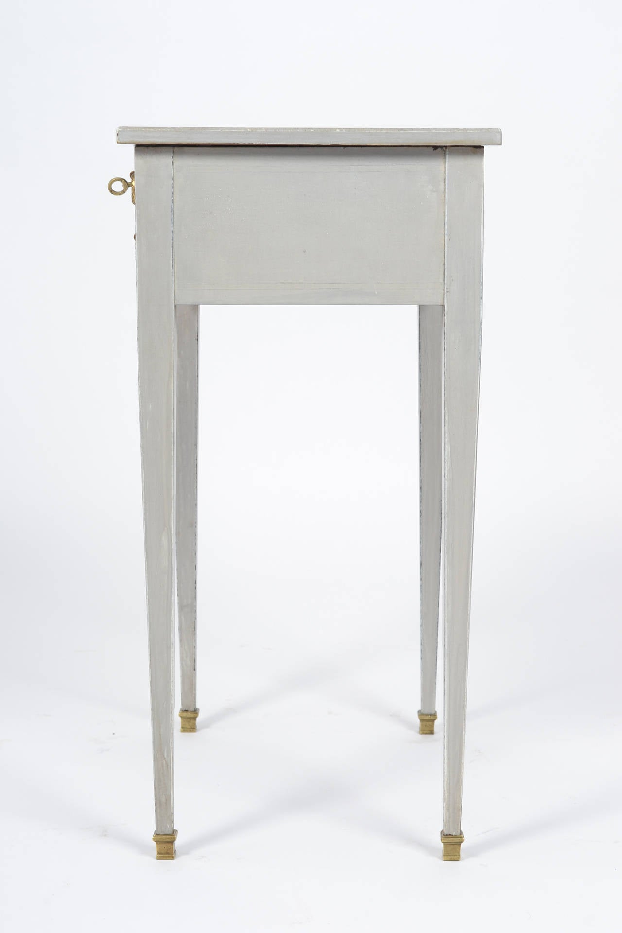 French Directoire Style Vanity Side Table For Sale 2