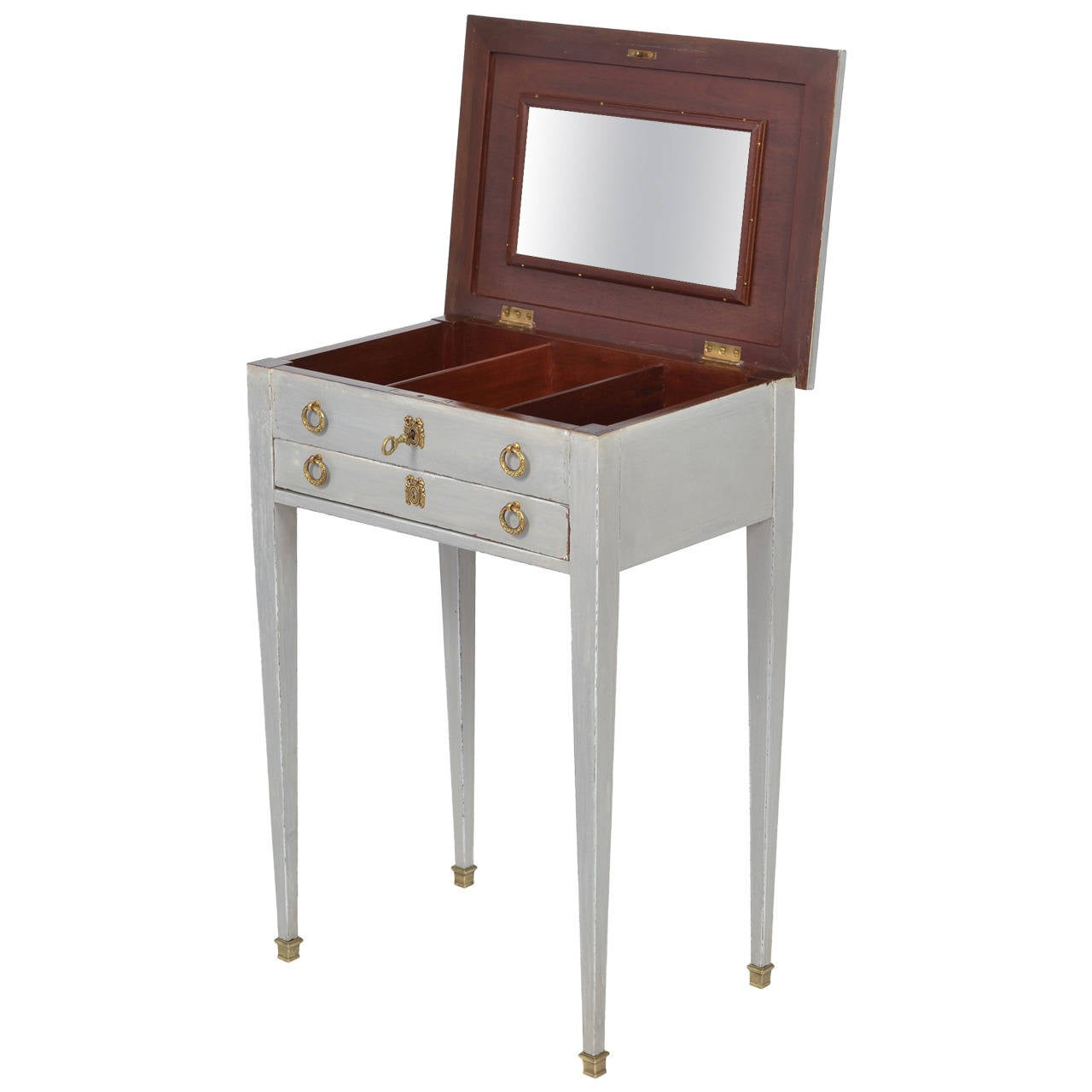 French Directoire Style Vanity Side Table 1