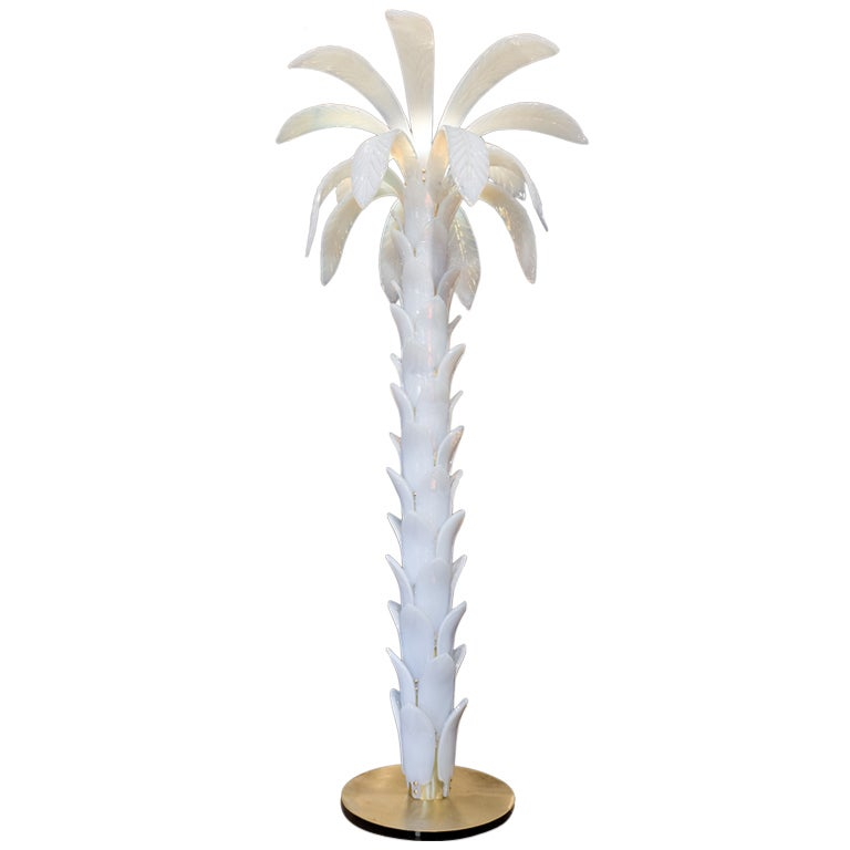 Murano glass palm tree floor lamp by mazzucato at 1stdibs murano glass palm tree floor lamp by mazzucato for sale aloadofball Gallery