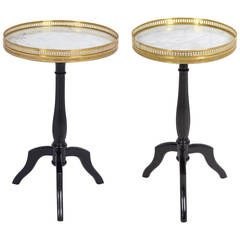 French Louis XVI Set of Side Tables