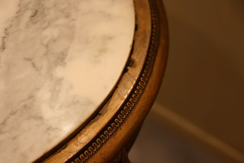 French Antique Louis XVI Side Table 2