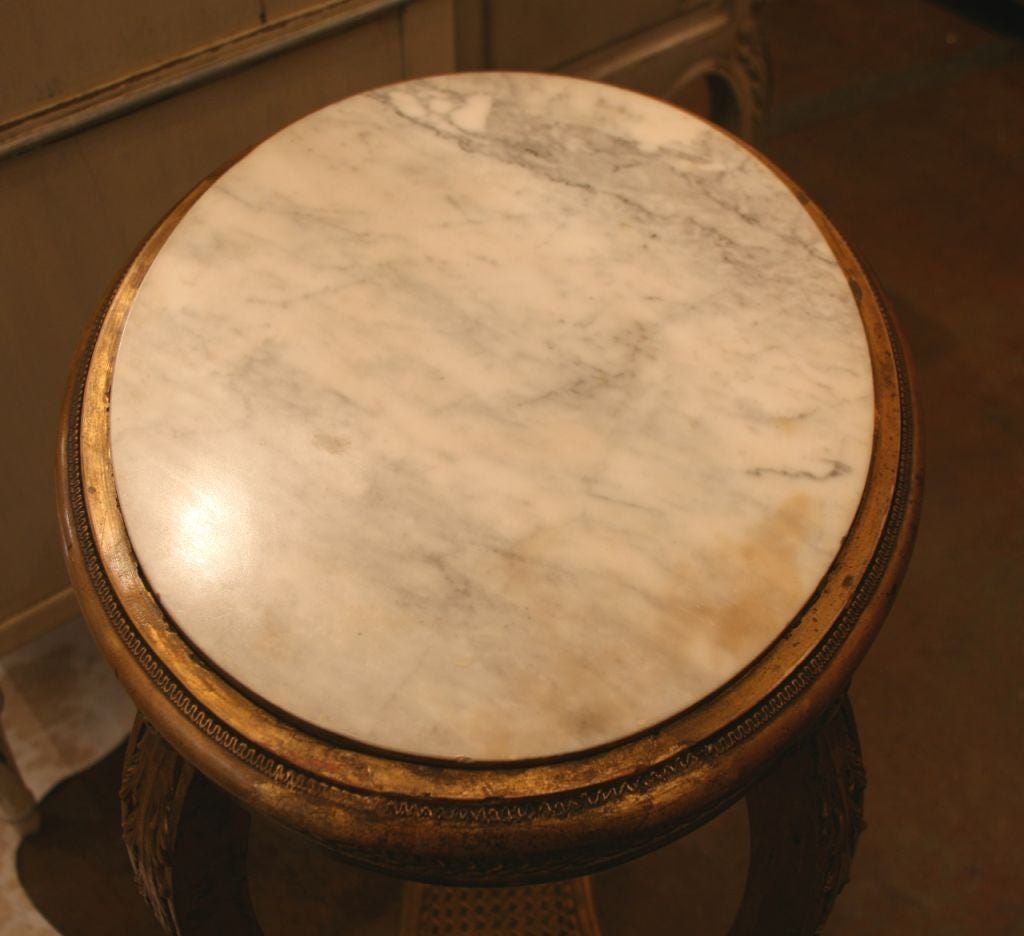French Antique Louis XVI Side Table 3