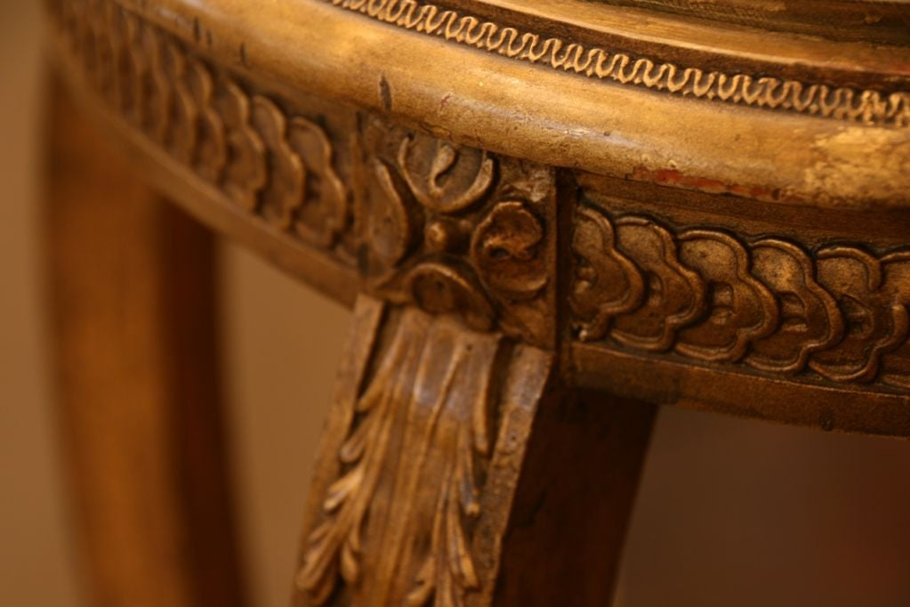 French Antique Louis XVI Side Table 6