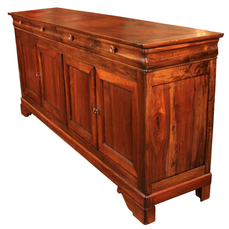 french antique louis philippe style buffet at 1stdibs. Black Bedroom Furniture Sets. Home Design Ideas