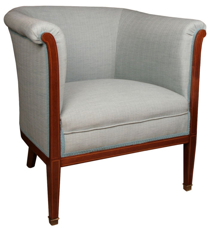 French neoclassic salon in solid mahogany at 1stdibs for Solid salon