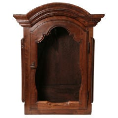 French Antique Grandfather Clock Case top