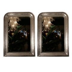 Pair of Antique French Louis Phillipe Period Mirrors