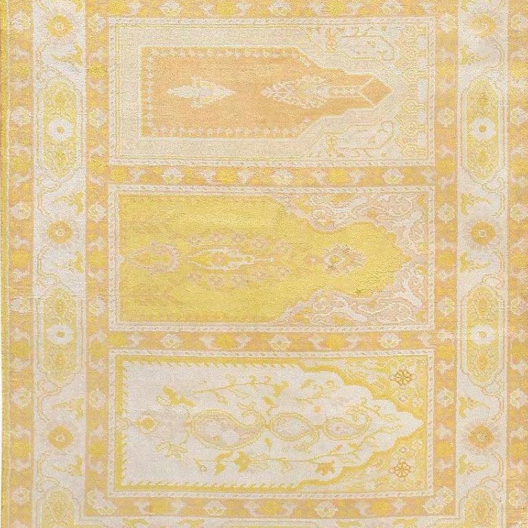 Hereke Silk Rug Youtube: Vintage Silk Hereke Runner For Sale At 1stdibs