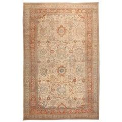 Antique Zigler Sultanabad Carpet