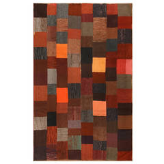 Lovely Antique American Hooked Rug