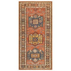 Gorgeous Antique Caucasian Soumak Rug