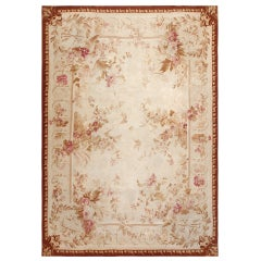 Antique Aubusson Carpet