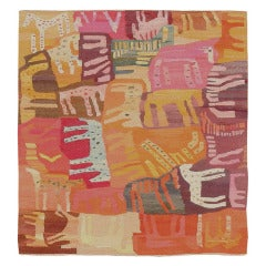 Swedish Textile Art Rug