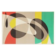 Swedish Velvet Tapestry by Pierre Olofsson