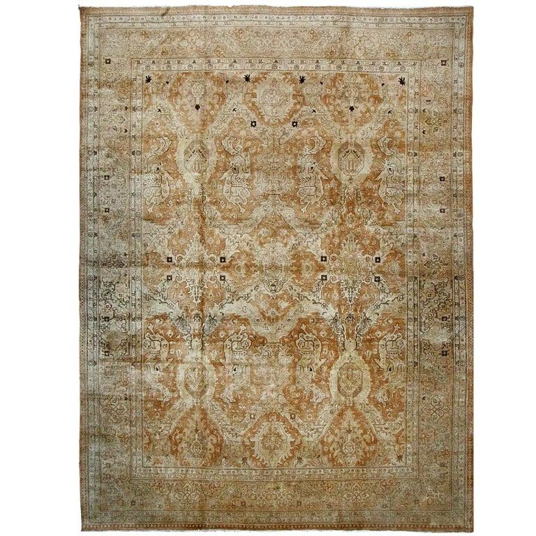 Modern Persian Tabriz Design Rug 44687 Nazmiyal Antique Rugs: Antique Tabriz Rug At 1stdibs