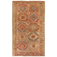 Antique Konya Turkish Rug