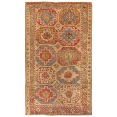 Antique Konya Turkish Rug. Size: 3 ft 5 in x 5 ft 10 in (1.04 m x 1.78 m)