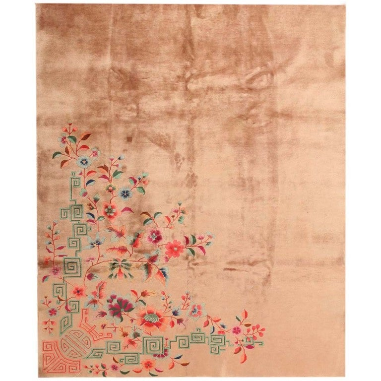 Antique Chinese Oriental Rugs  For Sale