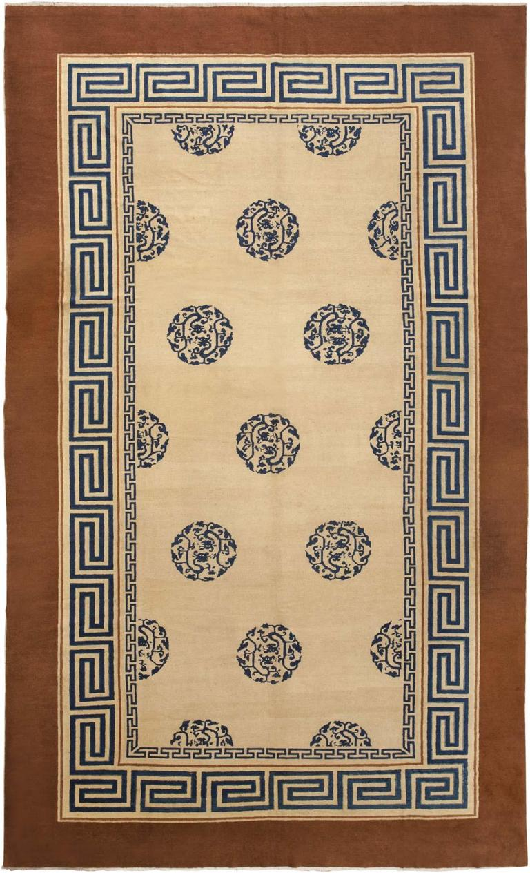 Elegant Antique Chinese Rug 2