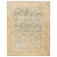 Decorative Antique Persian Kerman Rug