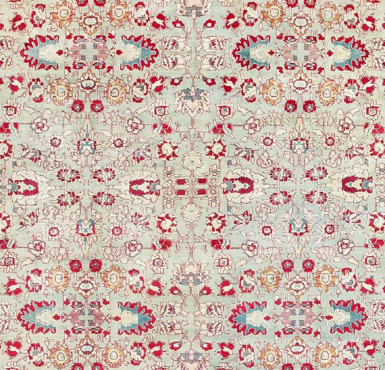 Deep Burgundy Indian Agra Rug For Sale At 1stdibs: Antique Indian Agra Carpet For Sale At 1stdibs