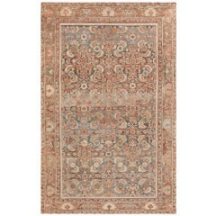 Antique Tribal Persian Malayer Rug