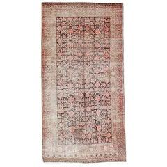 Antique Shabby Chic Khotan Rug