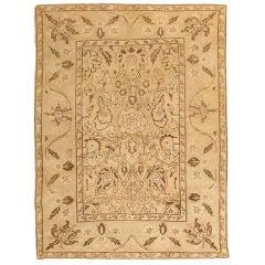 Antique Amritsar Indian Rug