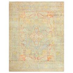 Gorgeous Antique Persian Kerman Carpet