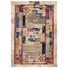 Art Deco Indian Rug