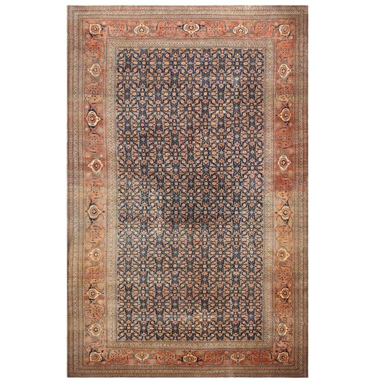 Antique Tabriz Persian Rug At 1stdibs