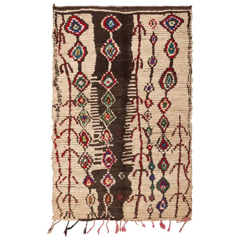 Vintage Moroccan Rug For Sale At 1stdibs