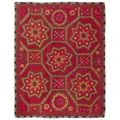 Antique Uzbeki Suzani Textile