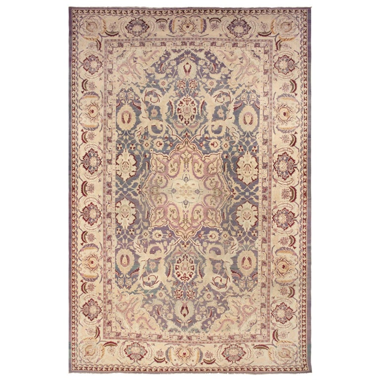 Antique Indian Agra Rug For Sale At 1stdibs: Antique Agra Rug For Sale At 1stdibs