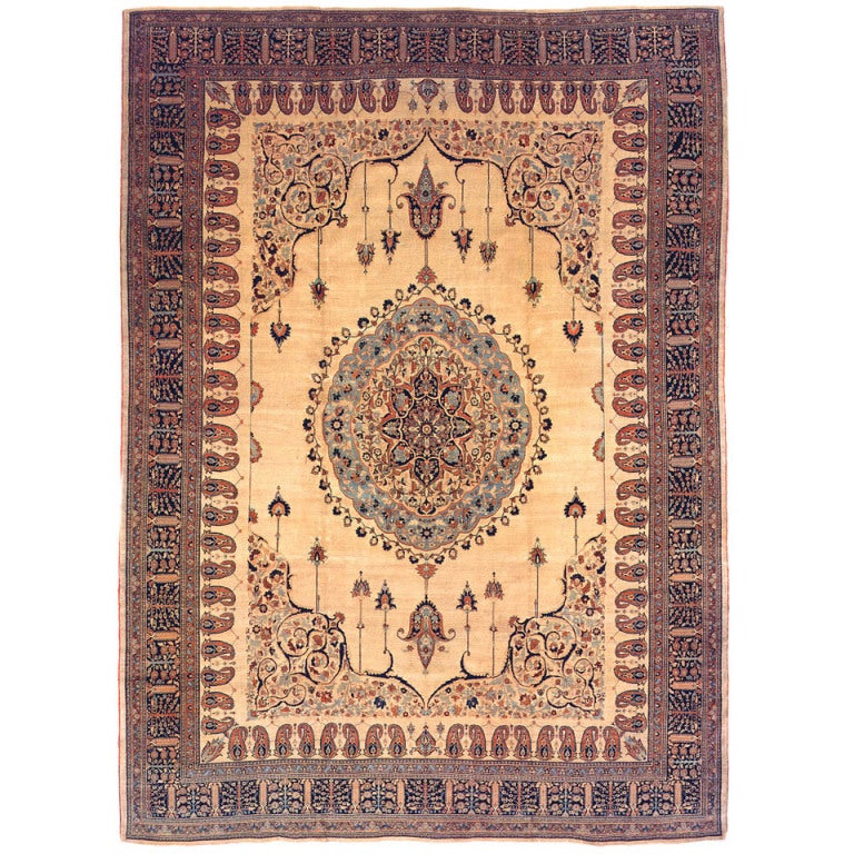Modern Persian Tabriz Design Rug 44687 Nazmiyal Antique Rugs: Antique Tabriz Persian Rug At 1stdibs